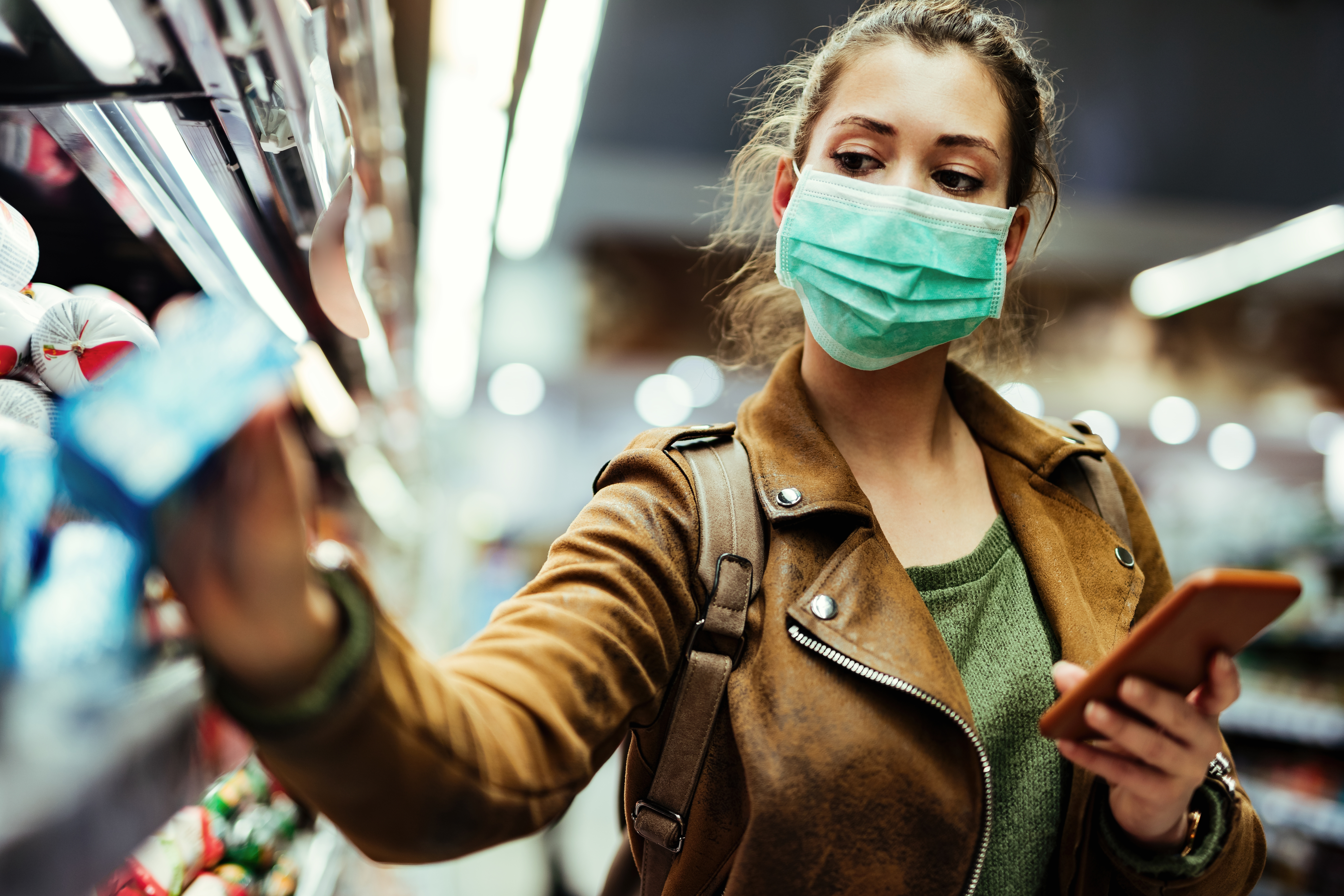 shopping during pandemic