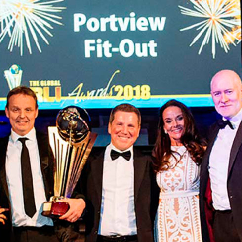 Portview Named Contractor of the Year at Global RLI Awards