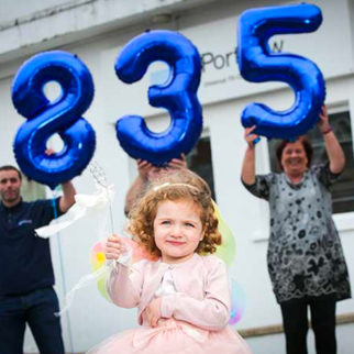 Best Wishes From Portview With £18,350 Donation