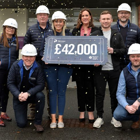 PORTVIEW HANDOVER £42K IN FITTING TRIBUTE TO COLLEAGUE