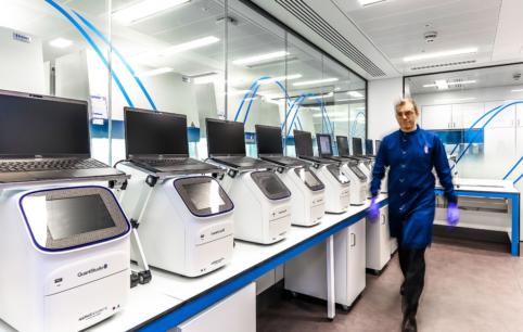 New CL2 PCR ROOM