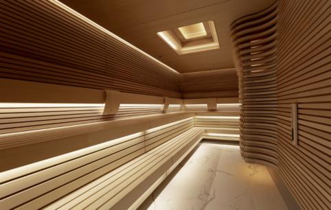 Dedicated Saunas, vitality pools and steam rooms